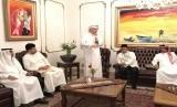 Konsulat Jenderal Republik Indonesia (KJRI) di Jeddah menggelar buka bersama (bukber) dengan tokoh media dan wartawan senior media Arab Saudi, Ahad (10/6).