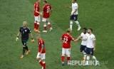 Prancis dan Denmark bermain imbang 0-0 pada pertandingan grup C Piala Dunia 2018 di Luzinski Stadium, Selasa (26/6) malam WIB.