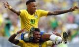 Bintang timnas Brasil Neymar.