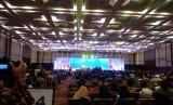 Pameran dagang berskala internasional Trade Expo Indonesia (TEI)  2018 resmi dibuka Presiden Joko Widodo (Jokowi) di Indonesia Convention  Exhibition (ICE) BSD, Tangerang, Rabu (24/10).