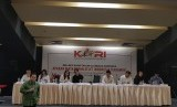 Ketua KOI Erick Thohir, saat menjadi pembicara dalam acara Refleksi Akhir Tahun Olahraga Indonesia yang digelar Komunitas Olahraga Indonesia (KORI), Senin (10/12) di Jakarta.
