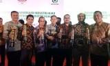PTPN VII mendapat penghargaan Industri Hijau untuk delapan unit usahanya dari Kementrian Perindustrian di Jakarta, Rabu (12/12).