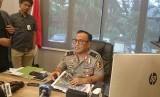 Karopenmas Divisi Humas Polri Brigjen Pol Dedi Prasetyo di Mabes  Polri, Jakarta Selatan, Kamis (20/12).