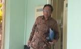 Mantan Ketua Mahkamah Konstitusi Mahfud.MD di Kepatihan  Yogyakarta, Rabu (26/12).