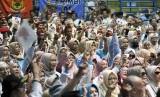 Ribuan Pendukung Prabowo-Sandi Kampanye Terbuka di Solo