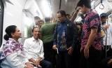 Resmikan MRT, Anies Berterima Kasih pada Semua Gubernur DKI