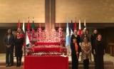 Menteri Luar Negeri (Menlu) Indonesia Retno LP Marsudi melakukan pertemuan World Assembly Women dengan Wakil Menlu Panama serta delapan Menlu perempuan dunia di Tokyo, Sabtu (23/3).