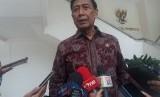 Menteri Koordinator Bidang Politik, Hukum, dan Keamanan Wiranto.