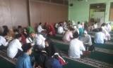 Materi pelajaran khilafah dan jihad di Madrasah. Siswa madrasah (ilustrasi)
