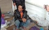 Pelaku mutilasi, Sugeng ditangkap di sekitar Klenteng, Jalan Martadinata, Kota Malang.