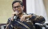 Direktur Keuangan PT Pertamina (Persero) Pahala N Mansury memberikan keterangan kepada wartawan terkait hasil Rapat Umum Pemegang Saham (RUPS) PT Pertamina (Persero) di Kementerian BUMN, Jakarta, Jumat (31/5/2019).