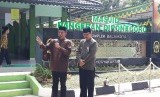 Peresmian pojok baca di Masjid Diponegoro Balai Kota Yogyakarta,  Senin (3/6).