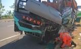 Kecelakaan di Tol Cipali, Tujuh Penumpang Bus Meninggal