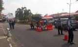 Suasana sekitaran Jalan Malioboro ketika diberlakukan uji coba  larangan kendaraan bermotor melintas.