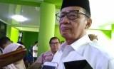 Gubernur Banten Wahidin Halim usai acara silaturahmi ulama dan umaro serta pimpinan Ormas Islam dan Majelis Agama, Senin (24/6).