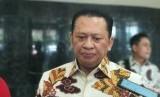 Ketua DPR RI Bambang Soesatyo di Kompleks Parlemen RI, Jakarta, Kamis (27/6).