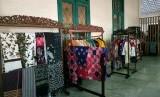 Galeri Batik di Museum Tekstil, Jakarta, Kamis (27/6).