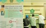 Daftar Istilah dan Singkatan Haji - Umrah dari Huruf K. Foto:  Sejumlah warga melakukan pendaftaran untuk berangkat haji di Kantor Kementerian Agama (Kemenag) Kota Tegal, Jawa Tengah, Rabu (10/7/2019).
