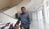 Wakil Presiden Jusuf Kalla saat diwawancarai wartawan di Kantor Wakil Presiden, Jakarta, Selasa (16/7).