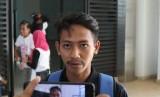 Pemain Persib Bandung, Beckham Putra, di Gelora Bandung Lautan Api, Kota Bandung, Kamis (22/8).