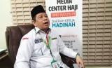 Kemenag Prioritaskan LHKPN Untuk Cegah Korupsi. Foto: Sekretaris Inspektorat Jenderal (Itjen) Kementerian Agama (Kemenag), Muhammad Thambrin memberikan keterangan pers kepada wartawan Media Center Haji (MCH) Daker Madinah, Rabu (21/8) malam