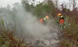 Karhutla (Ilustrasi). Kerugian akibat karhutla di Bangka dari Januari -11 November capai Rp 3,8 miliar.