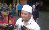 Wagub Jabar Uu Ruzhanul Ulum saat diwawancara wartawan di Kota Tasikmalaya, Ahad (6/10).