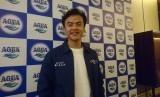 Aktor Dion Wiyoko saat ditemui di Jakarta Selatan, Jumat(1/11).
