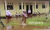 Kabupaten Karawang merupakan wilayah yang kerap menjadi langganan banjir (Ilustrasi)