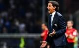 Pelatih Lazio Simone Inzaghi. azio yang berstatus juara bertahan ditekuk Napoli di perempat final Coppa Italia.
