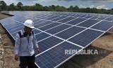 PLN mengoperasikan PLTS Sambelia berkapasitas 5 MW yang berlokasi di Lombok Utara. Ilustrasi.