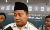 Wakil Gubernur Jawa Barat Uu Ruzhanul Ulum. Ajengan Masuk Sekolah digagas sebagai upaya meningkatkan moral dan akhlak pemuda