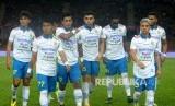 Para pemain Persib Bandung. Ilustrasi