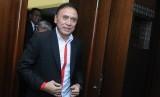 Ketua Umum PSSI Mochamad Iriawan meninggalkan ruangan usai menghadiri Rapat Umum Pemegang Saham (RUPS) PT Liga Indonesia Baru (LIB) di kawasan Kuta, Badung, Bali, Kamis (23/1/2020)