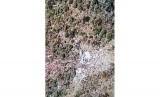 Lokasi penemuan puing helikopter MI-17 di Pegunungan Mandala, Distrik Oksop, Pegunungan Bintang, Papua