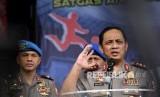 Wakil Kepala Kepolisian RI Komisaris Jenderal Gatot Eddy Pramono (kanan)