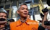 Tersangka mantan Komisioner KPU Wahyu Setiawan