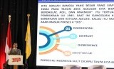 BEM UI Serahkan Dokumen Terkait Papua ke Mahfud MD. Foto: Menko Polhukam Mahfud MD memberikan paparan saat acara Bincang Seru Mahfud di Universitas Indonesia, Depok, Jawa Barat, Senin (17/2/2020).