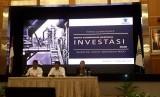 Badan Koordinasi Penanaman Modal (BKPM) gelar konferensi pers mengenai Rakornas Investasi di Jakarta, Senin, (17/2).