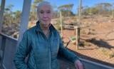 Ahli primata dunia Jane Goodall mengunjungi kebun binatang Monarto untuk mengumumkan seekor bayi simpanse diperkirakan akan lahir tahun ini.