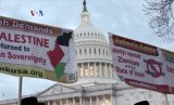 Aksi demo di depan Gedung Putih, AS (ilustrasi)