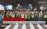 Aksi protes warga di Paris, Prancis