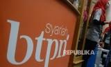 The logo of BTPN Syariah