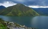 Alam yang indah di Danau Toba