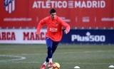Penyerang Atletico Madrid Alvaro Morata siap tampil menghadapi Liverpool.