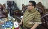 Anggota Bawaslu, Rahmat Bagja, ketika dijumpai di Kantor Bawaslu, Thamrin, Jakarta Pusat, Senin (30/4).