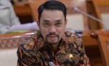 Anggota Komisi III DPR RI Ahmad Sahroni di Gedung DPR RI.