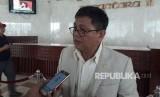 Anggota komisi III DPR-RI Fraksi Partai Nasdem, Taufiqulhadi di gedung Nusantara II, Selasa (24/10).