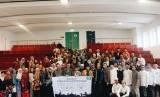 Anggota PCIM Jerman Raya menghadiri acara safari dakwah Imam Shamsi Ali di 10 kota di Eropa.