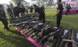 senjata api rakitan sebelum dimusnahkan / Ilustrasi